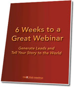 Image: 6 Weeks to a Great Webinar